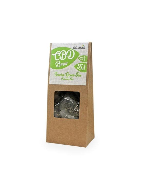 Somnio CBD Thee Sencha Green 3mg CBD per theezakje - 15 zakjes