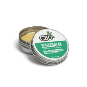 CBDfx Full Spectrum CBD Spierbalsem 50mg 15ml
