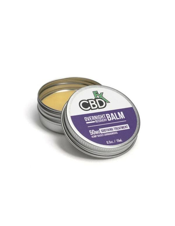 CBDfx Overnight Recovery Balm Full Spectrum CBD 50mg 15ml