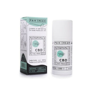 Pachamama CBD Pain Cream Menthol 850mg 100ml