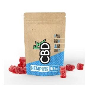 CBDfx Hemp CBD Gummies 8 stuks