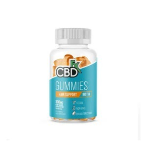 CBDfx CBD Gummies Hair & Nail Support Biotine 60 stuks