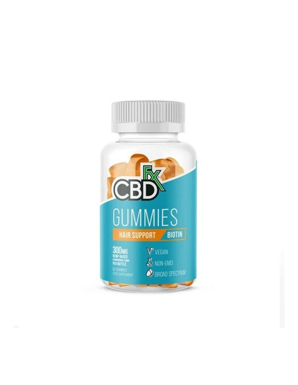 CBDfx CBD Gummies Hair & Nail Support Biotine 60 stuks