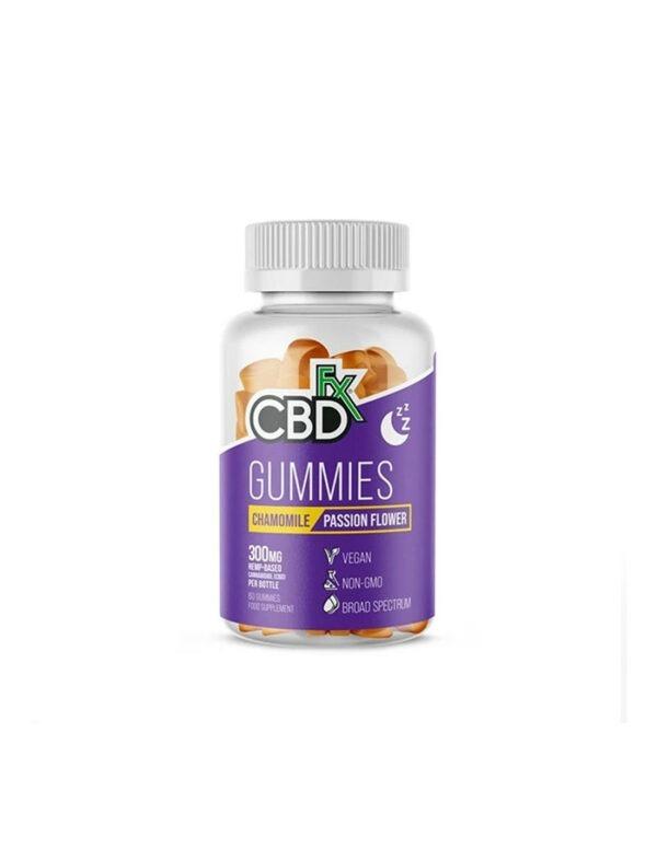 CBDfx CBD Gummies Kamille Passiebloem 60 stuks
