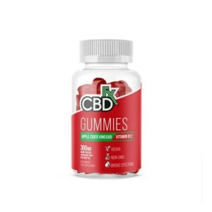 CBDfx CBD Gummies Apple Cider Vinegar Vitamine B12 60 stuks