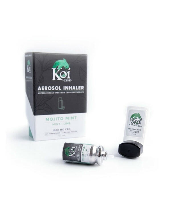 Koi CBD Aerosol Inhaler 1000mg 2ml - Mojito x Mint