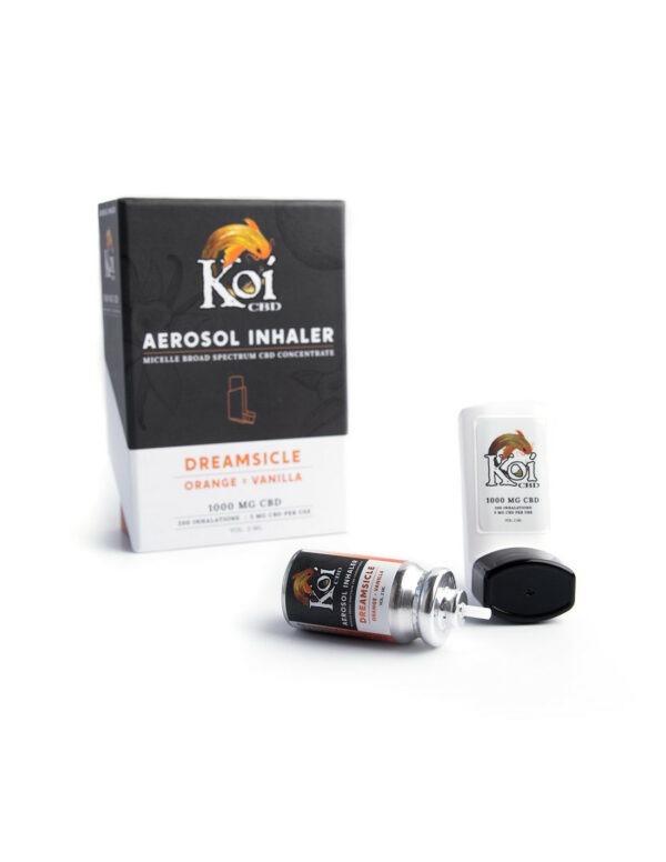Koi CBD Aerosol Inhaler 1000mg 2ml - Dreamsicle