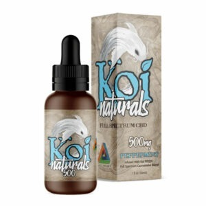 Koi Naturals Peppermint Full Spectrum CBD Supplement 30ml
