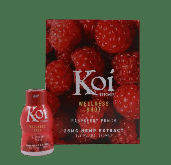 Koi Hemp Wellness Shot 25mg CBD - 2 Smaken