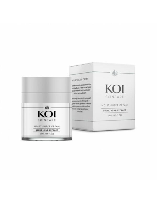 Koi Skincare CBD Moisturizer Crème Hemp Extract 500mg 50ml