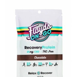 Floyd's On The Go Recovery Protein Chocolate 25mg 45g (6 PACK)