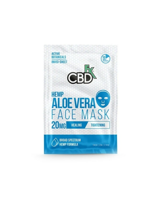 CBDfx Lavendel Gezichtsmasker met CBD 20mg