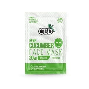CBDfx Komkommer Gezichtsmasker met CBD 20mg