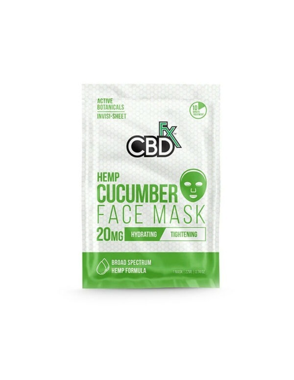 CBDfx Rose Gezichtsmasker met CBD 20mg
