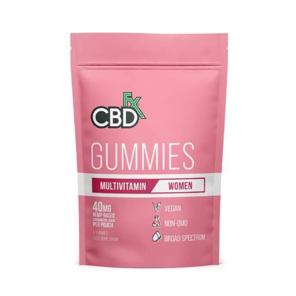 CBD +FX Multivitamine Gummies 40mg 8stuks