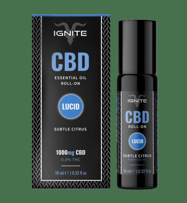 Ignite CBD Essential Oil Roll-On 10ml Lucid 'Subtle Citrus'