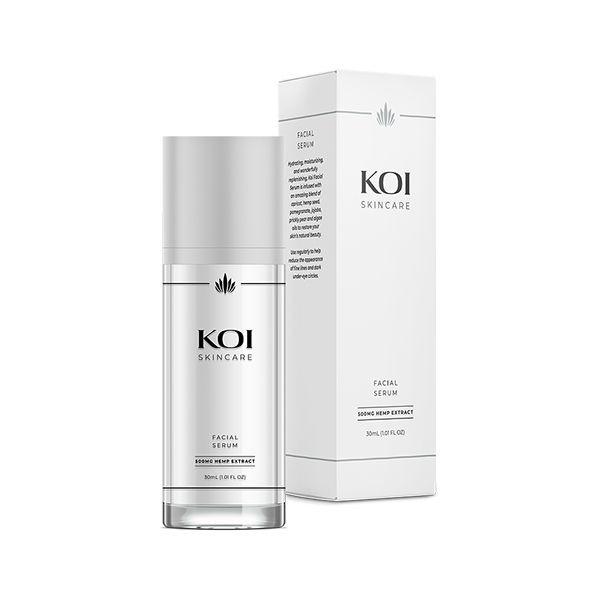 Koi Skincare CBD Gezichtsserum Hemp Extract 500mg 30ml
