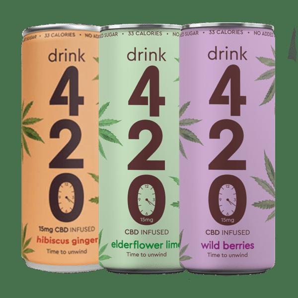420 CBD Drink 15mg 250ml Wild Berries