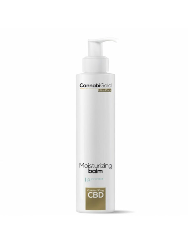 CannabiGold Ultra Care Moisturising Balm 200ml 50mg