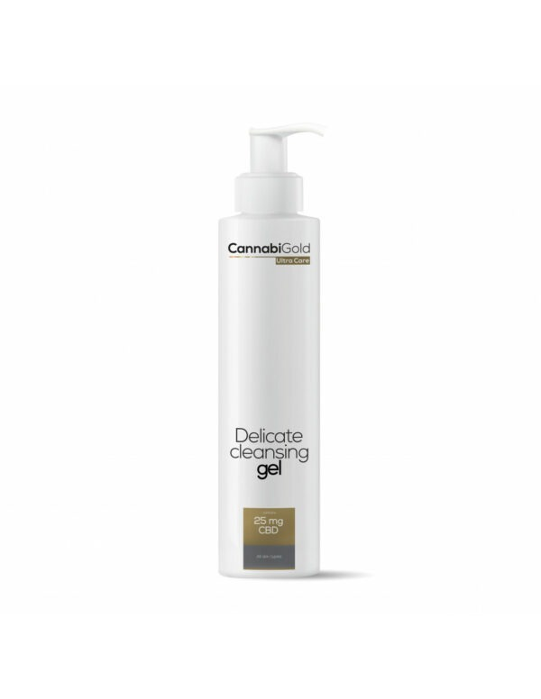 CannabiGold Ultra Skin Delicate Cleansing Gel alle huidtypes 200ml 25mg